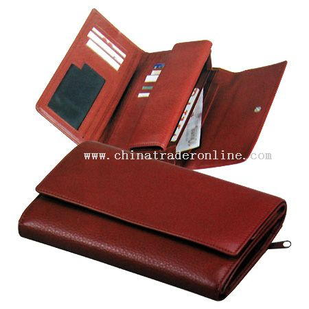 Lady Leather Wallet from China