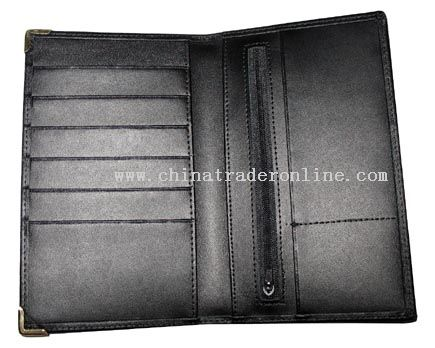 Second Layer Leather wallet from China
