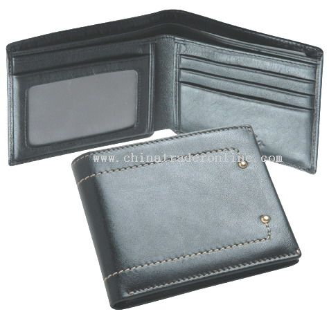 Top quality cow leather Wallet from China