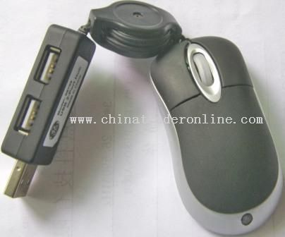 USB HUB Mouse from China