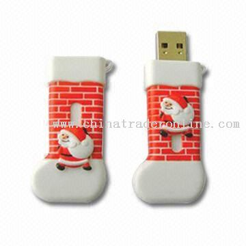 Christmas Sock-shaped USB Flash Drives