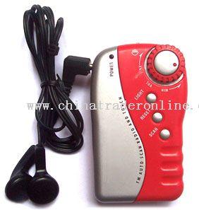 Mini Pocket Radios