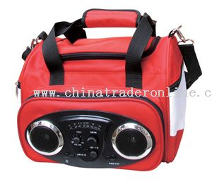 Radio with Cooler Bag