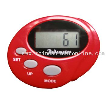 Pedometer with Clock and Calorie from China