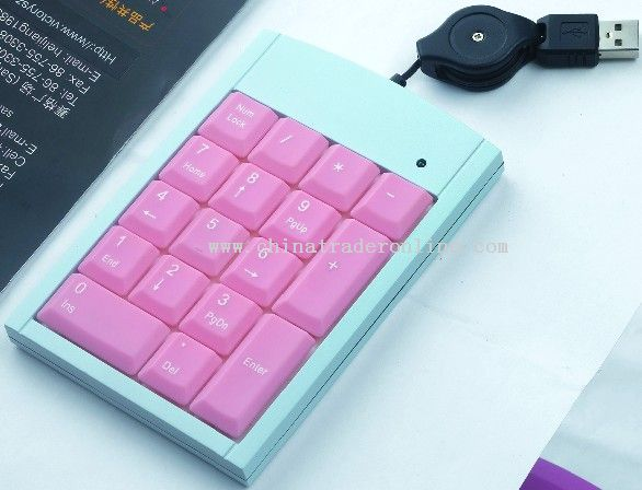 Mini Numeric Keyboard
