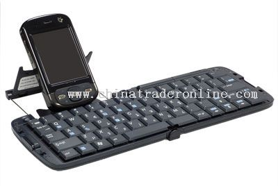 PDA Bluetooth Keyboard with Phone Rack
