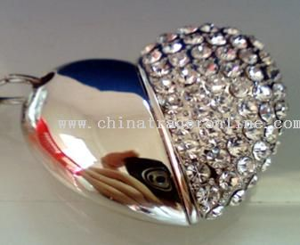 Diamond USB Flash Drive for Valentine Day from China