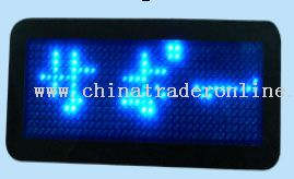 Multi-language LED USB Name Badge