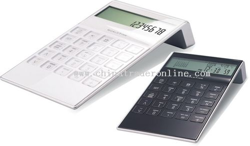 12 Digits Dual Power Calendar Desktop Calculator