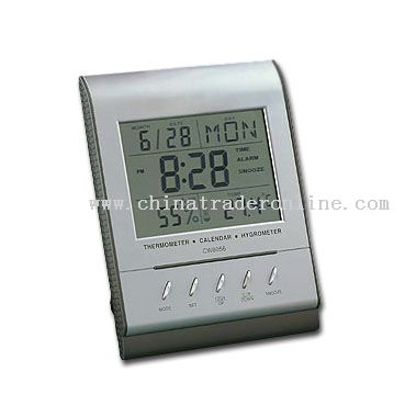 Jumbo Display Weather Station Clock