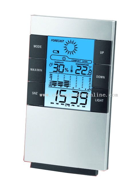 Weather Station Clocks Calendar