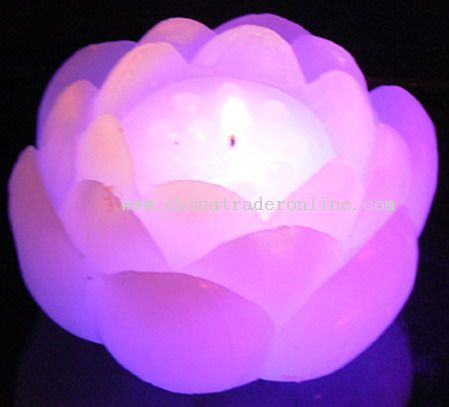 Flower Shaped LED Candle from China