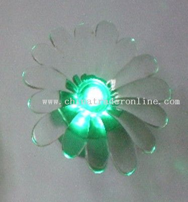 Green LED candle light