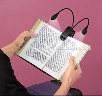 Dual lights Book Light
