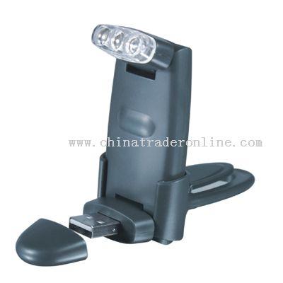 USB Folding Book Light