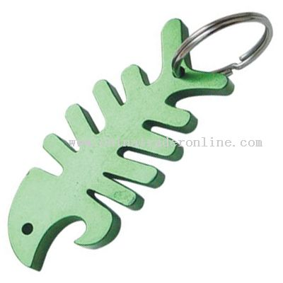 Metal Fish Bottle Opener