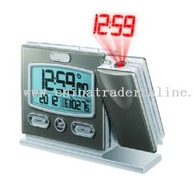AM/FM Radio with Projection Alarm Clock