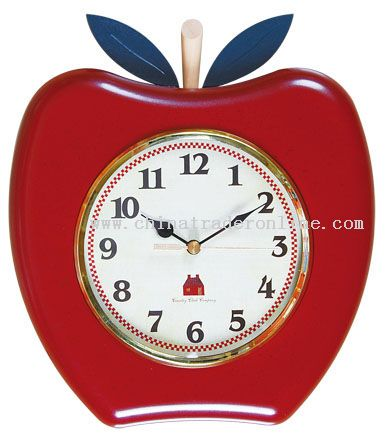 Apple Quartz Clock