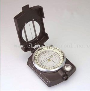 Zinc Alloy Prismatic Compass With Gradienter