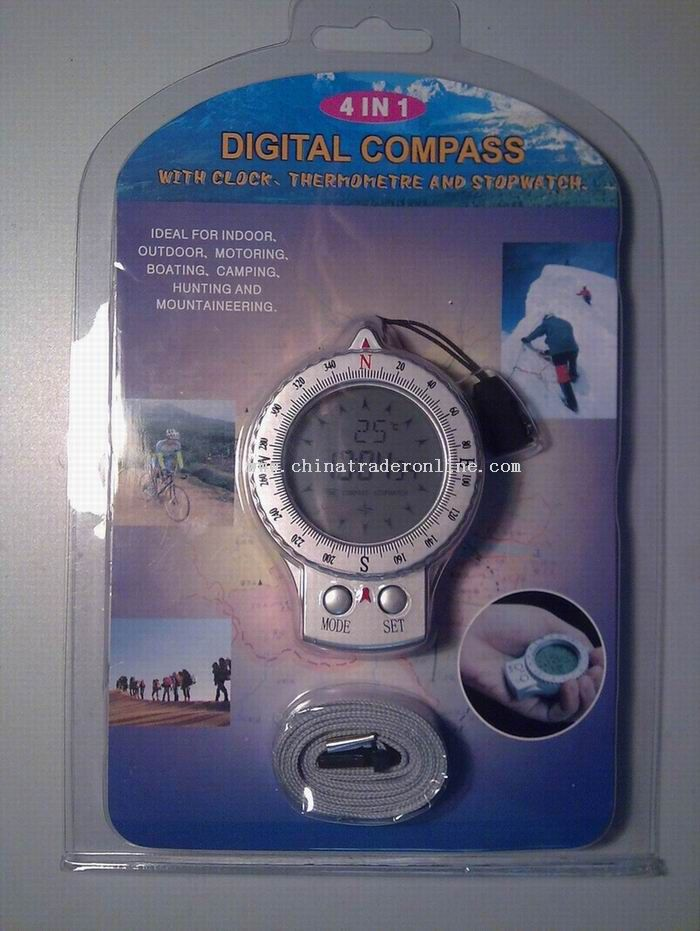 4 in 1 Digital Compass
