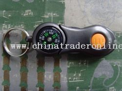 Plastic Flashlight Compass