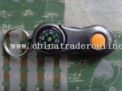 Plastic Flashlight Compass