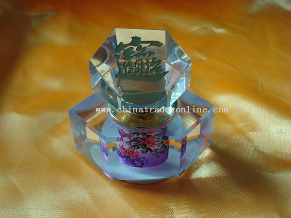 Crystal perfume bottle from China