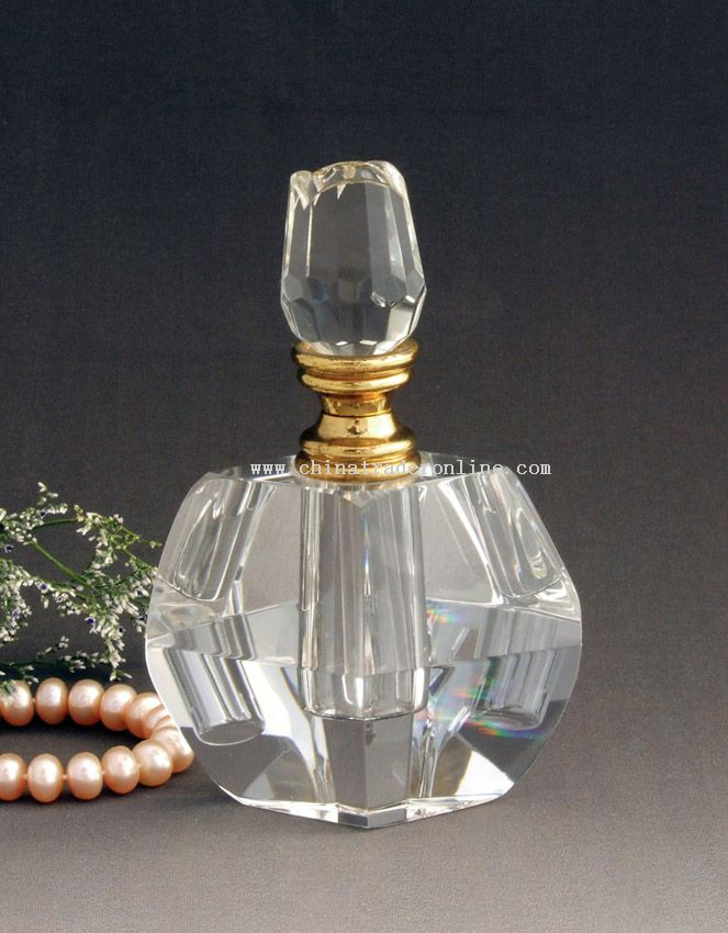 K9 glass crystal Perfume Bottle from China