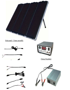 60W solar power generation kit