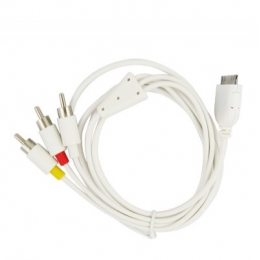 Compatible AV Cable for iPod Classic / Nano / Touch and iPhone / iPhone 3G