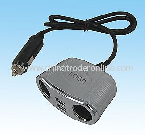 4-way Car Power Adapter