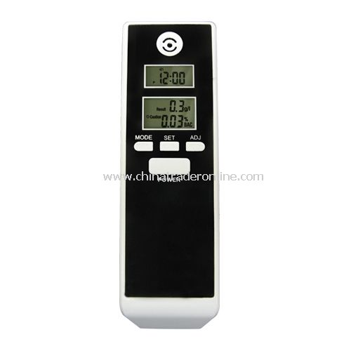 Digital LCD display Alcohol Tester