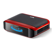Elegant Car Air Purifier with colorful LCD