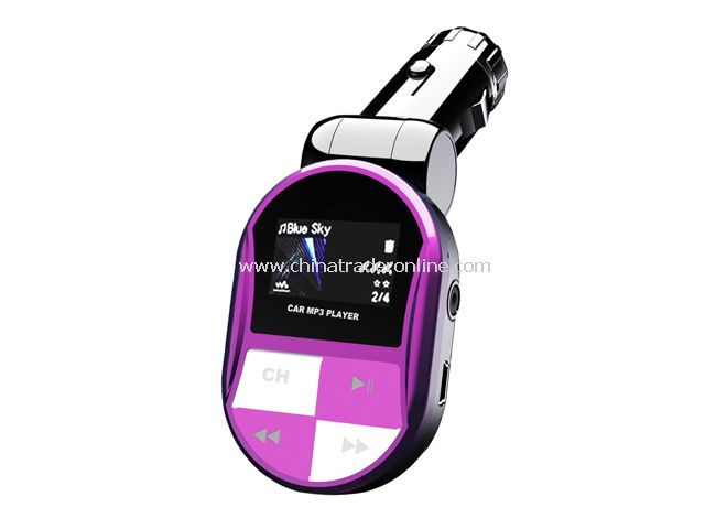 Car MP3 / Fm Transmitter from China