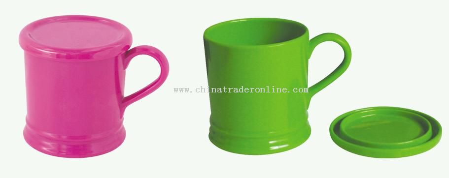 Melamine Cup With Lid from China