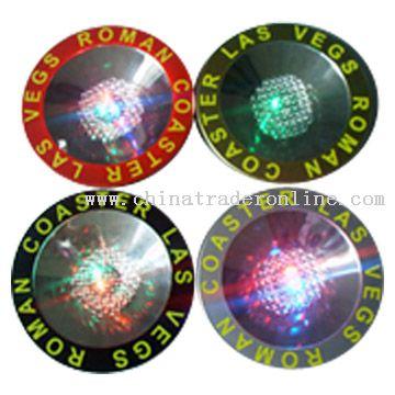 Flash LED Coaster