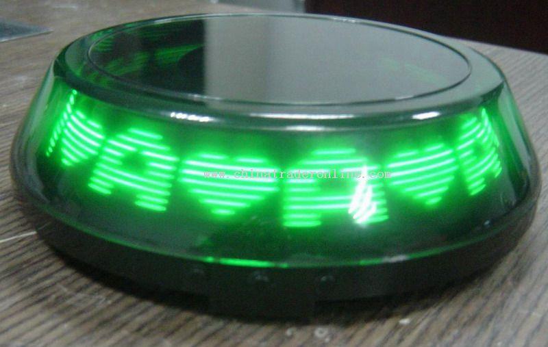 LED Message Coaster