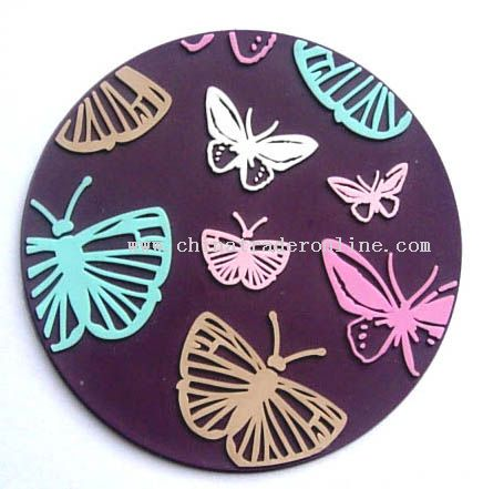 Soft PVC Coaster