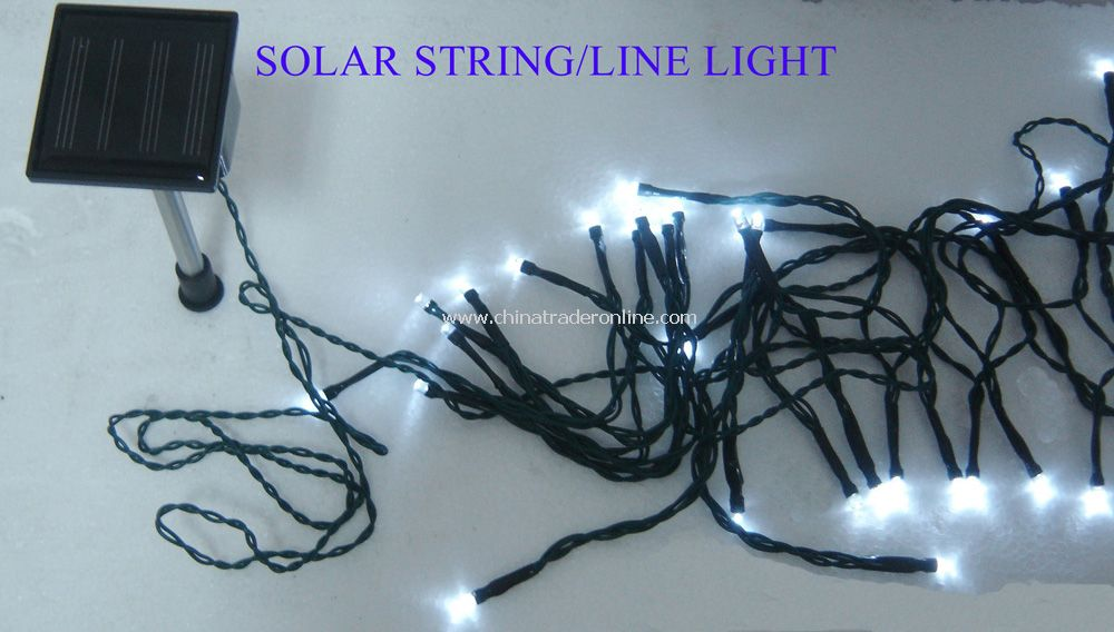 Exceptional Solar Line Lights Part - 14: ... Solar Christmas String Light ...