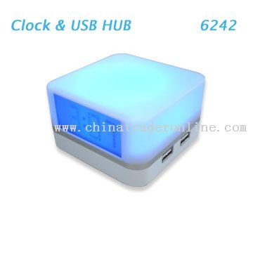 4 Port USB Hub Clock Hub