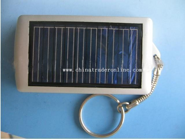 Solar Mobile charger with keychain from China