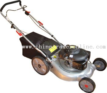 Lawn Mower With Large Wheel