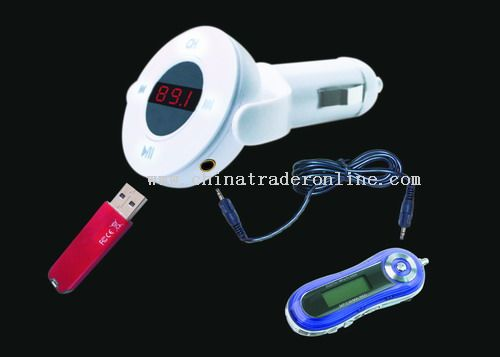 Car Mp3 Player with USB Flash Drive