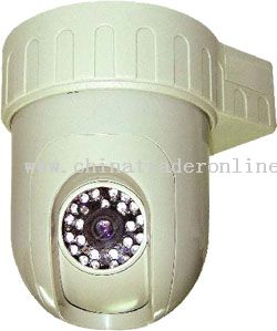 Constant Speed Dome IR & IP Camera