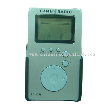 LCD Game Console with Radio