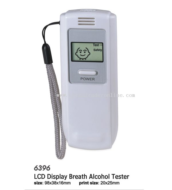 LCD Display Breath Alcohol Tester
