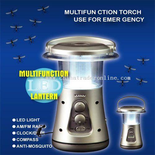 Portable radio night light