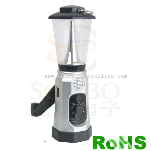 LED Lantern with Radio