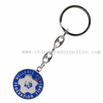 Promotion coin key chain