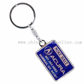 car promotional keychain